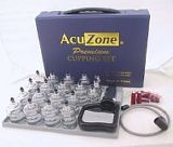 Acupressure cupping set