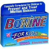 Bonine for Kids Motion Sickness Tablets