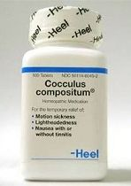 Cocculus Compositum Homeopathic Motion Sickness Remedy