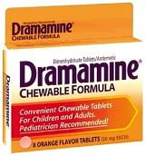 Dramamine Chewable Motion Sickness Tablets