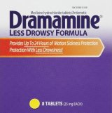 Dramamine Less Drowsy Formula Motion Sickness Medication
