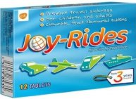 Joy-Rides travel sickness tablets