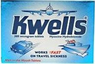 Kwells anti motion sickness tablets