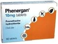 Phenergan motion sickness medication