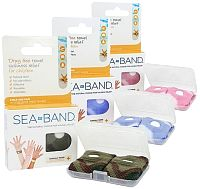Sea Bands for Travel and Motion Sickness, Morning Sickness and Chemotherapy induced Nausea Relief