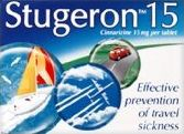 Stugeron travel sickness pills