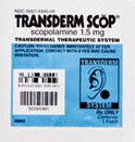 The famous Transderm-Scop Motion Sickness Patch